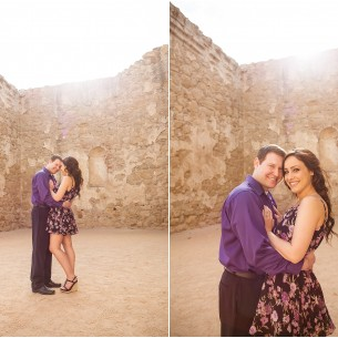 San Juan Capistrano Engagement Session - http://brittneyhannonphotography.com