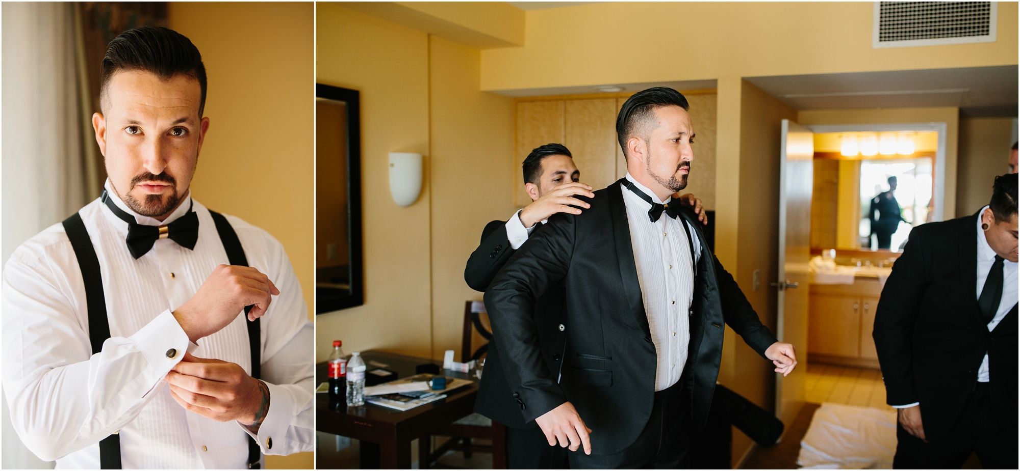Groom Getting Ready - http://brittneyhannonphotography.com