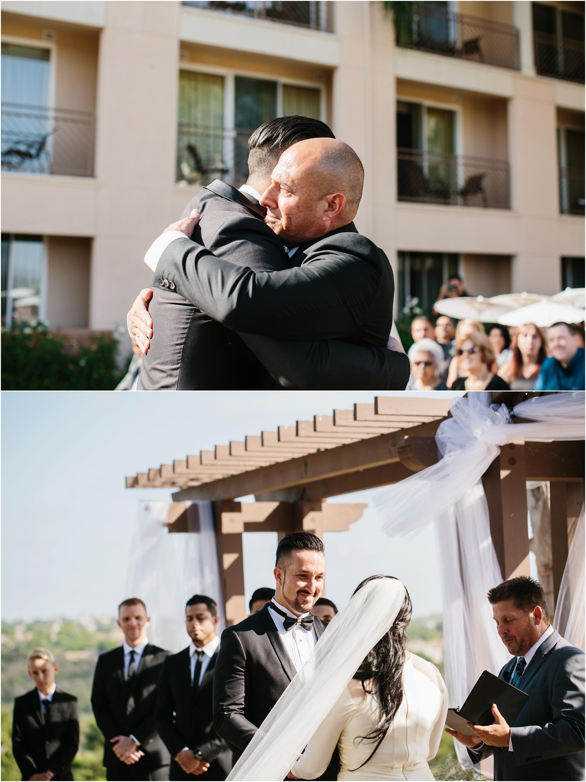 Beautiful San Diego Wedding Ceremony - http://brittneyhannonphotography.com