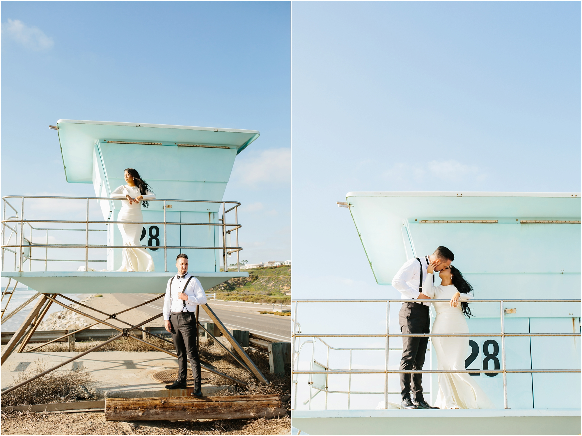 Beach Bride and Groom - http://brittneyhannonphotography.com