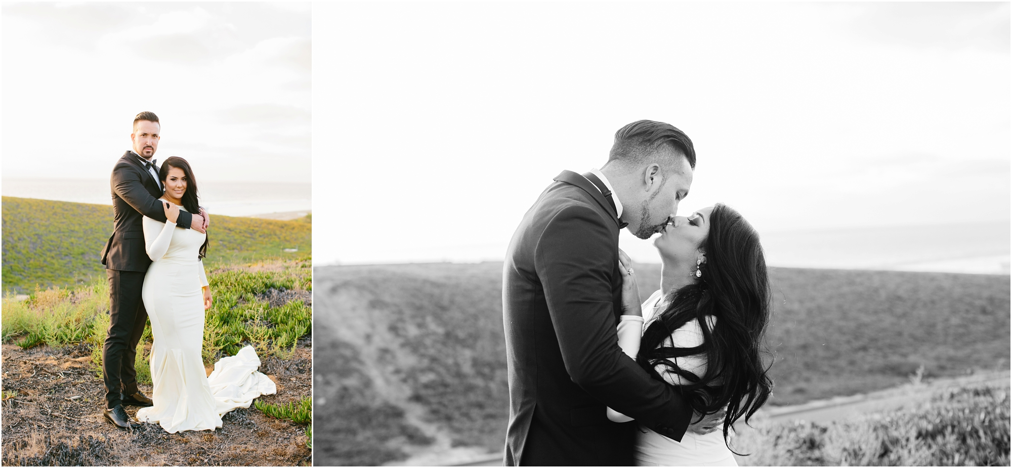 Romantic Bride and Groom Photos - http://brittneyhannonphotography.com