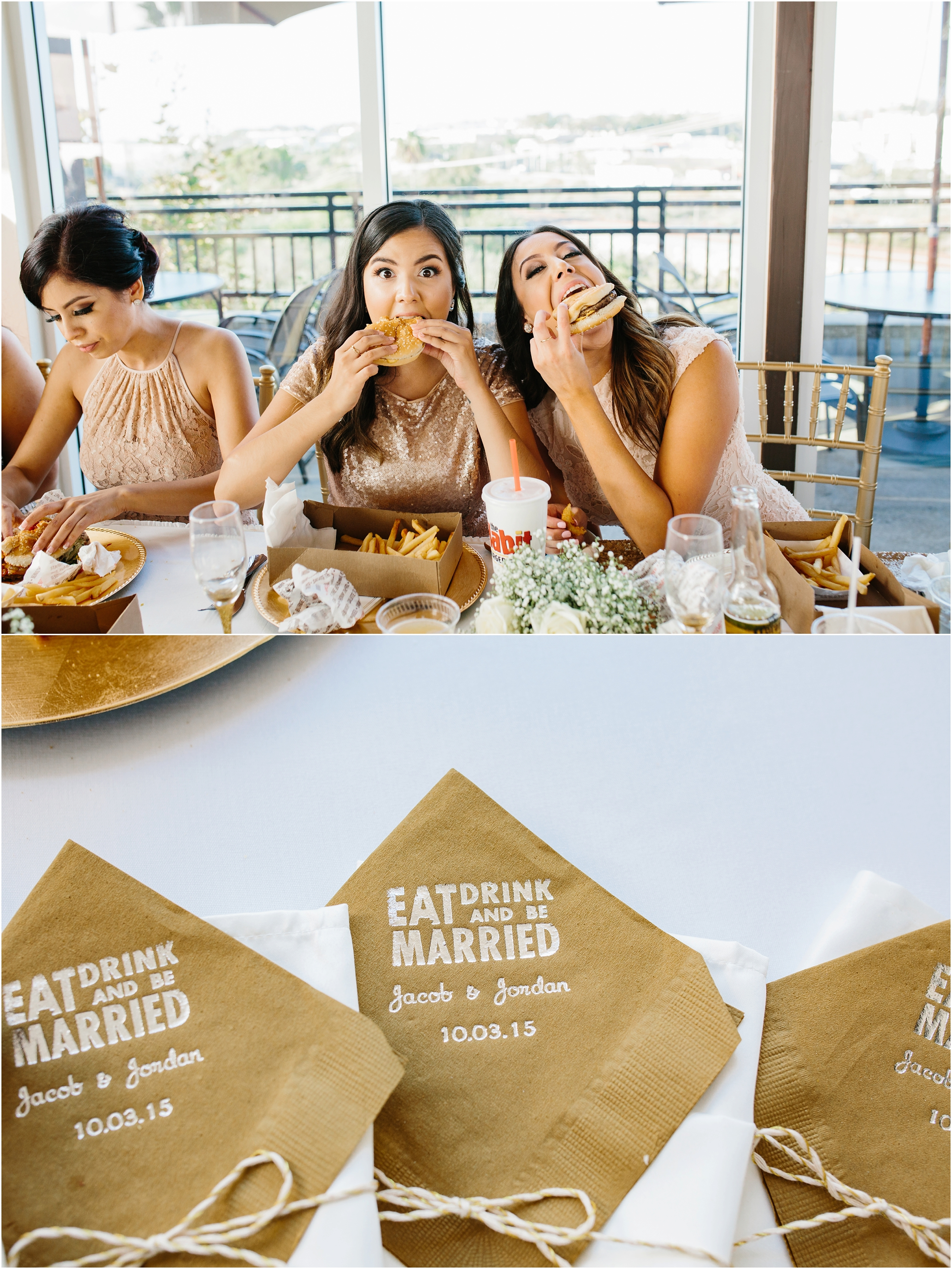 Eat, Drink & Be Married - http://brittneyhannonphotography.com