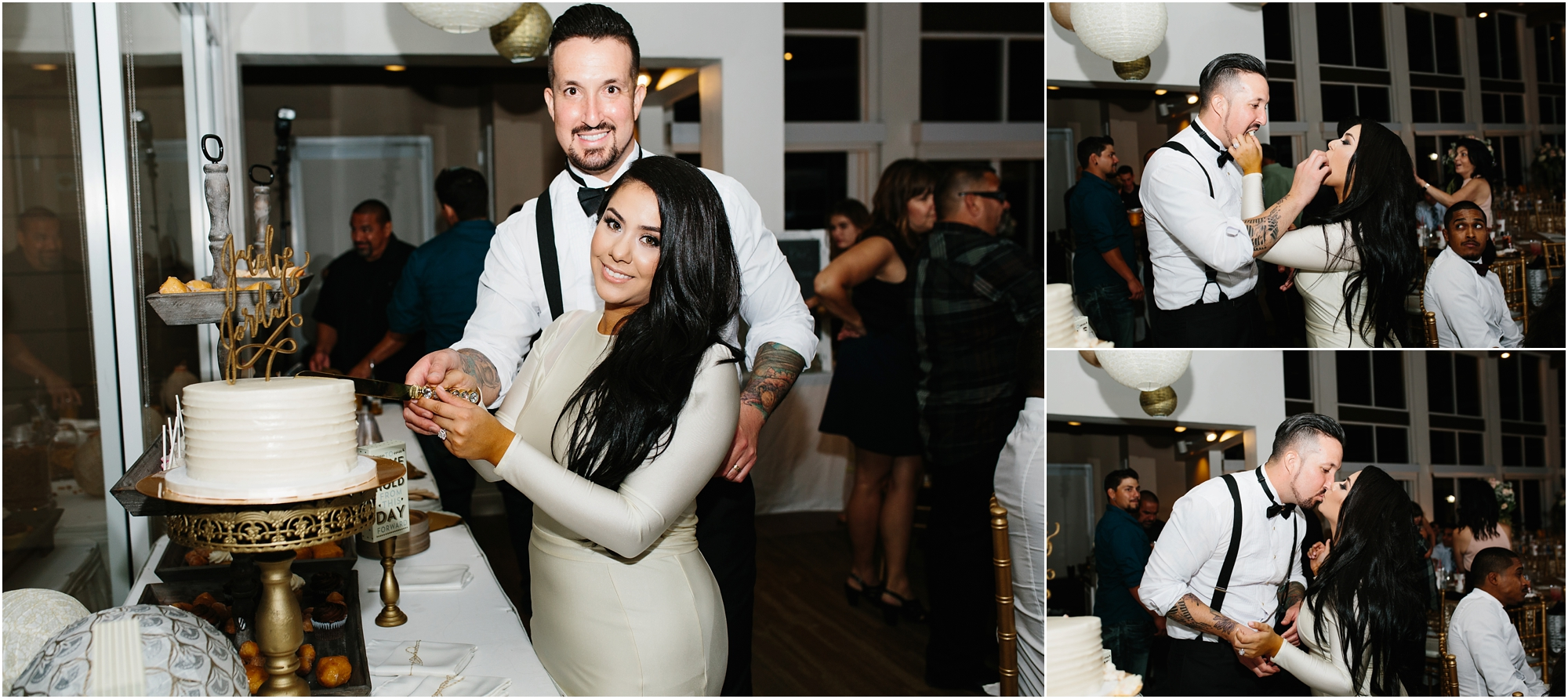 Cake Cutting - http://brittneyhannonphotography.com