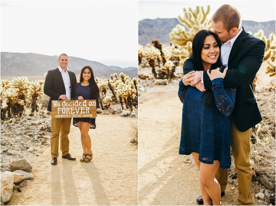 Joshua Tree Engagement Session - http://brittneyhannonphotography.com