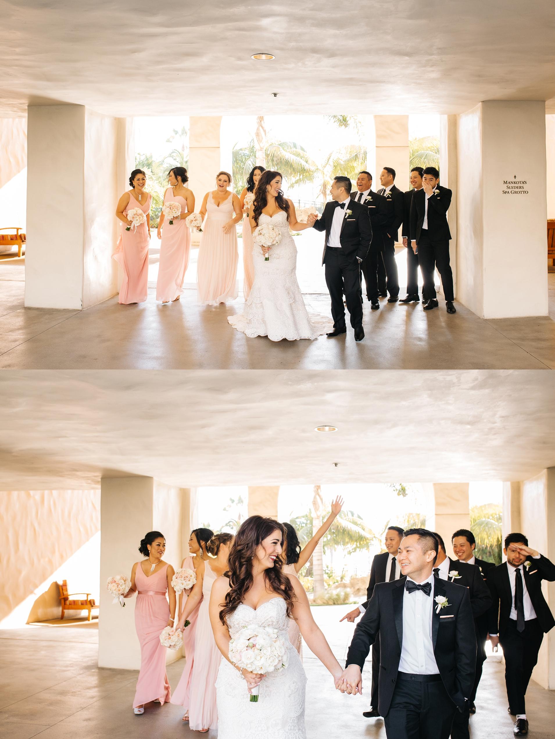 Bridal Party Photos in Orange County