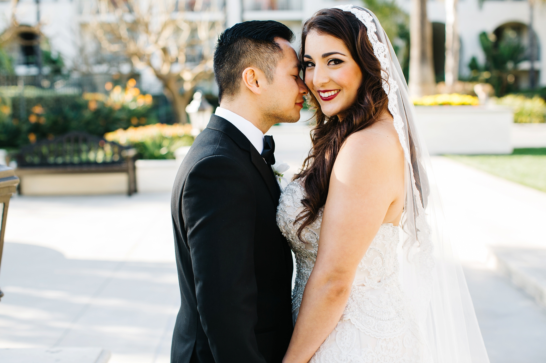 Bride and Groom Pictures - Huntington Beach Wedding