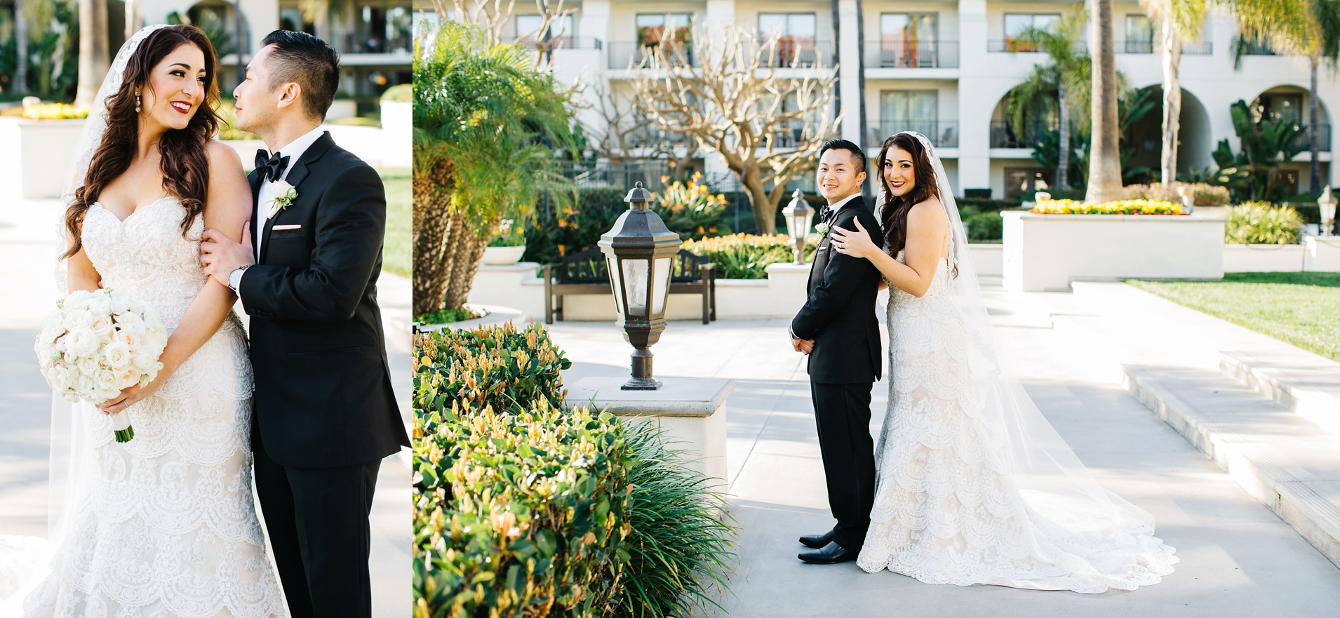 Bride and Groom Pictures - OC Wedding