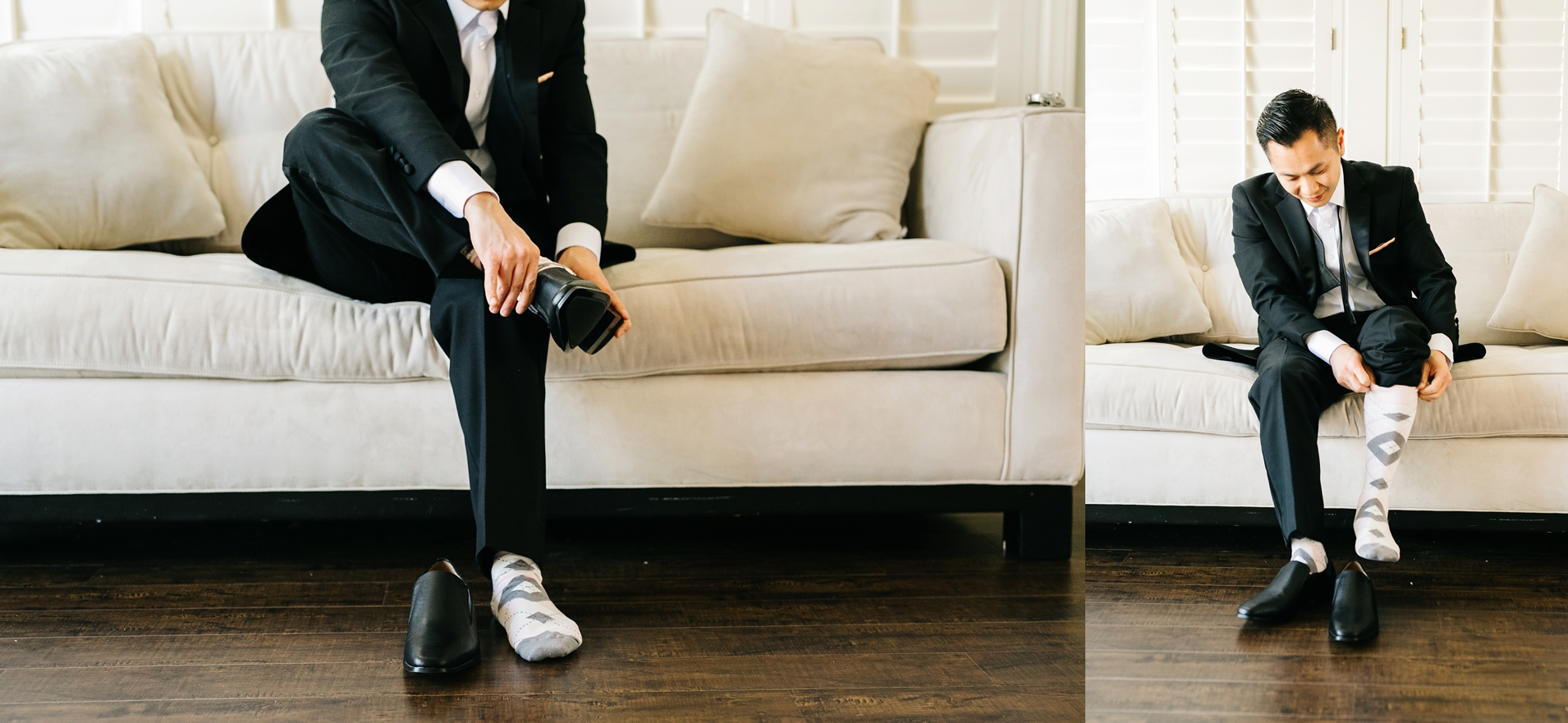 Groom Getting Ready Photos in Orange County, CA - Brittney Hannon Photography