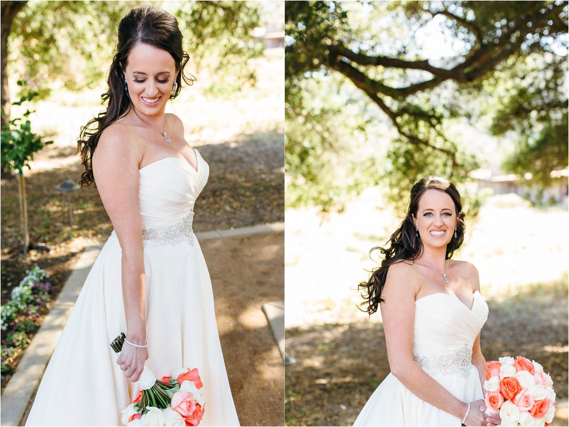 bridal photos at pechanga