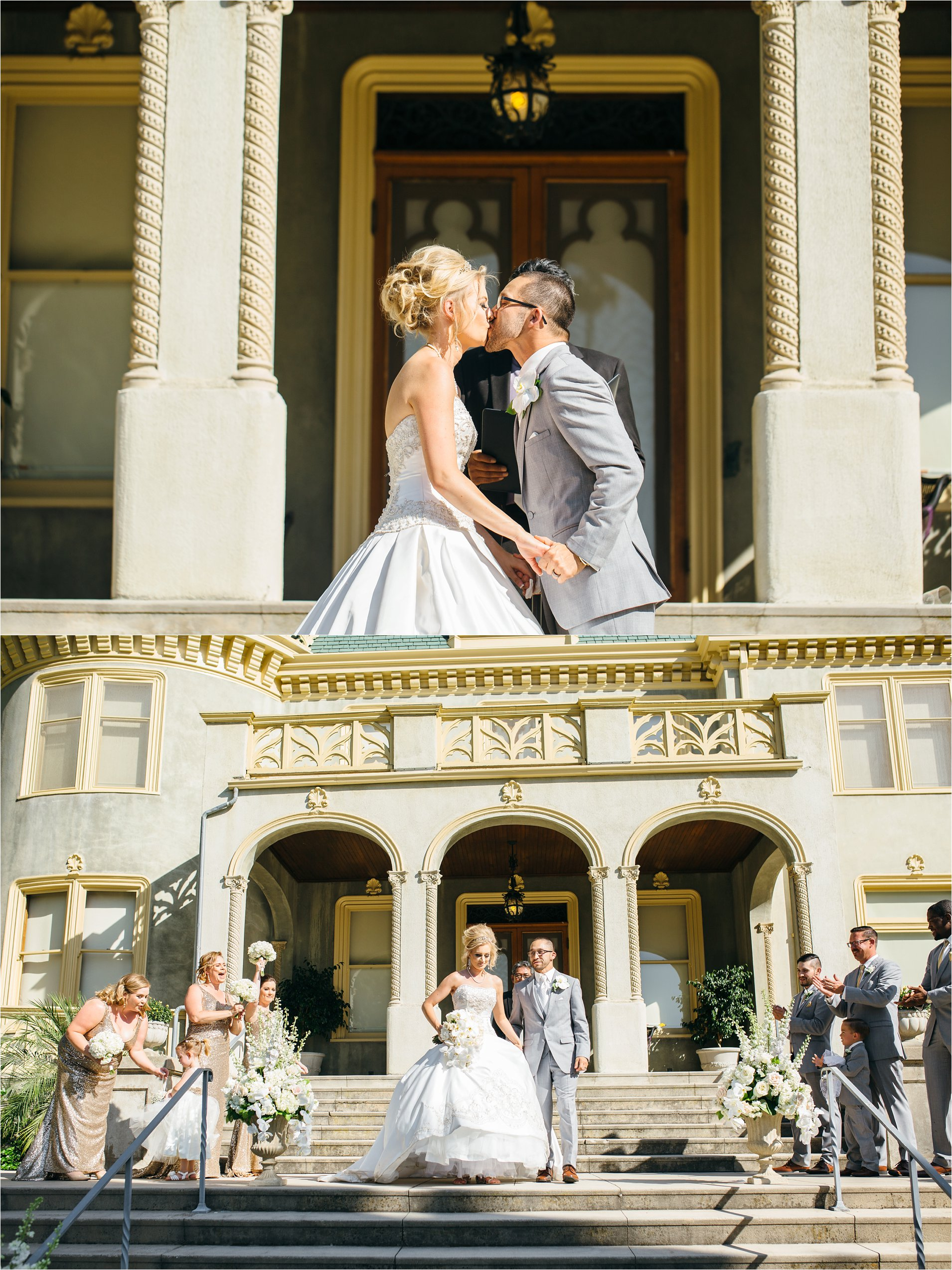 Kimberly Crest Wedding Ceremony Photos