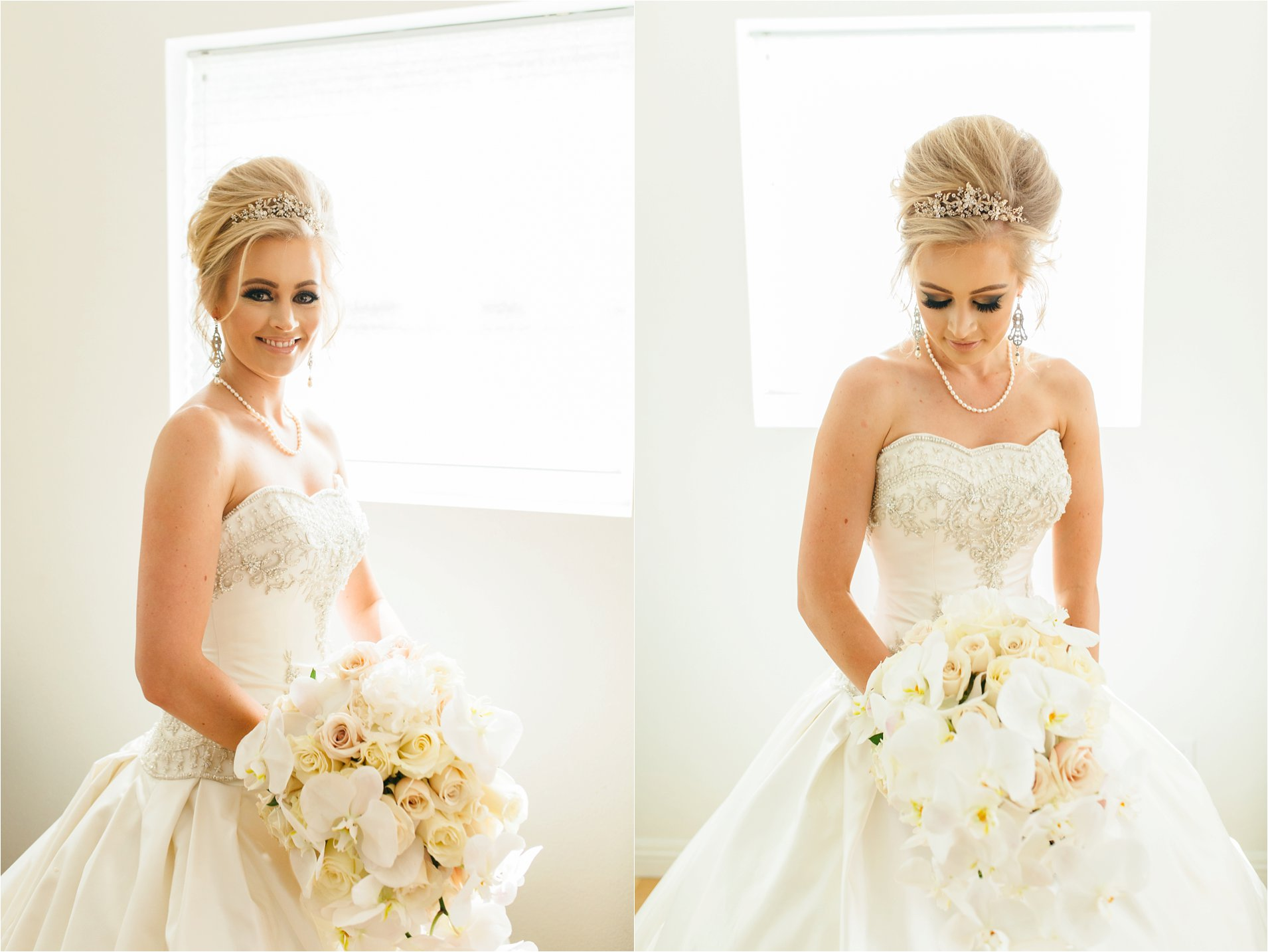 Gorgeous Bride at the Kimberly Crest