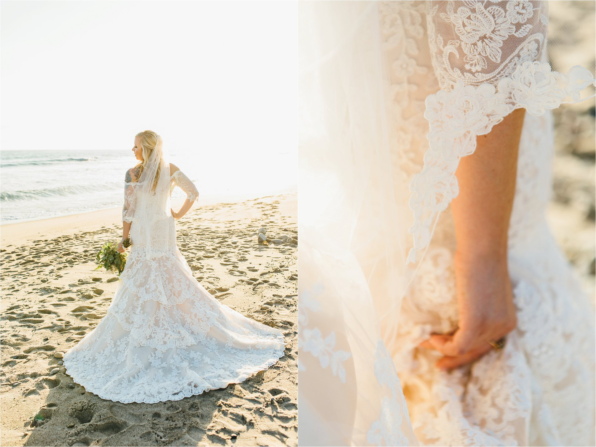 Lace Wedding Dress in Orange County