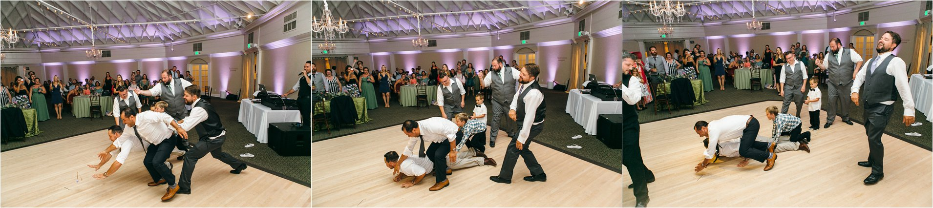 Wedding Reception Garter Toss
