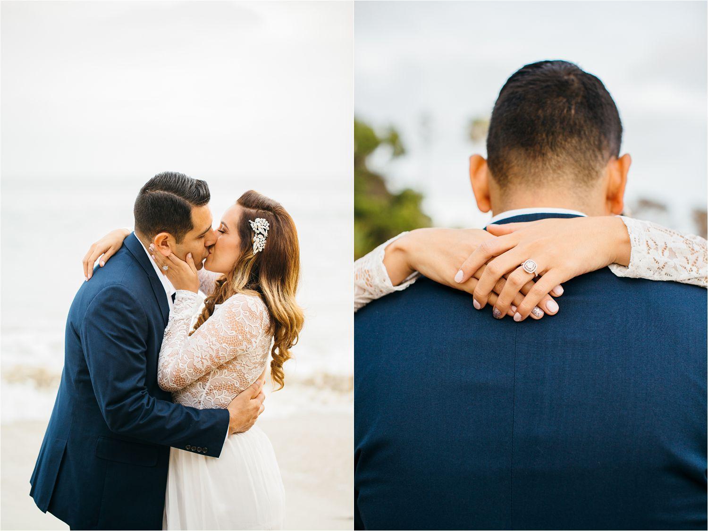 Romantic Engagement Photos in Laguna Beach