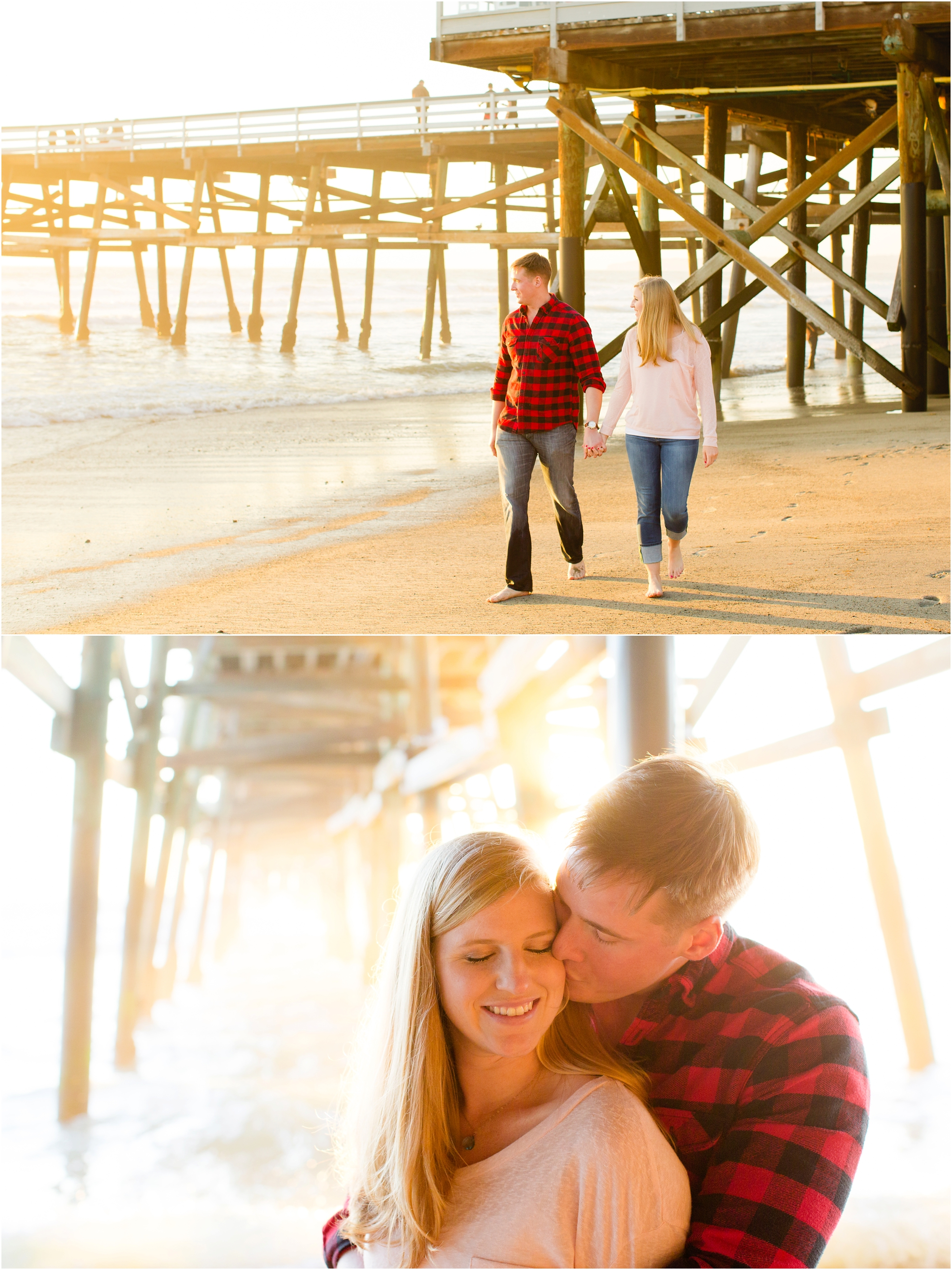 Beach Engagement Session - https://brittneyhannonphotography.com