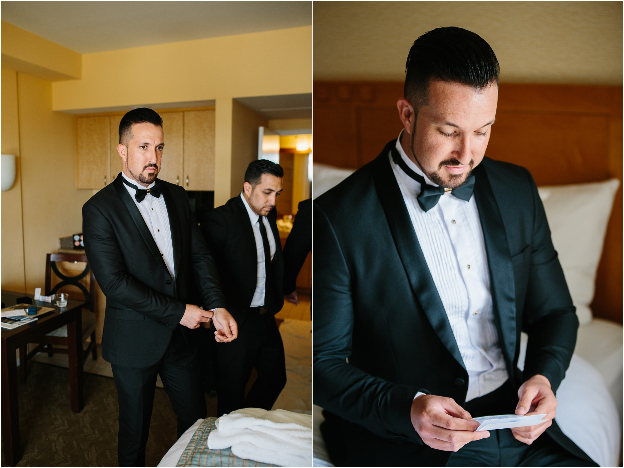 Groom Getting Ready - https://brittneyhannonphotography.com