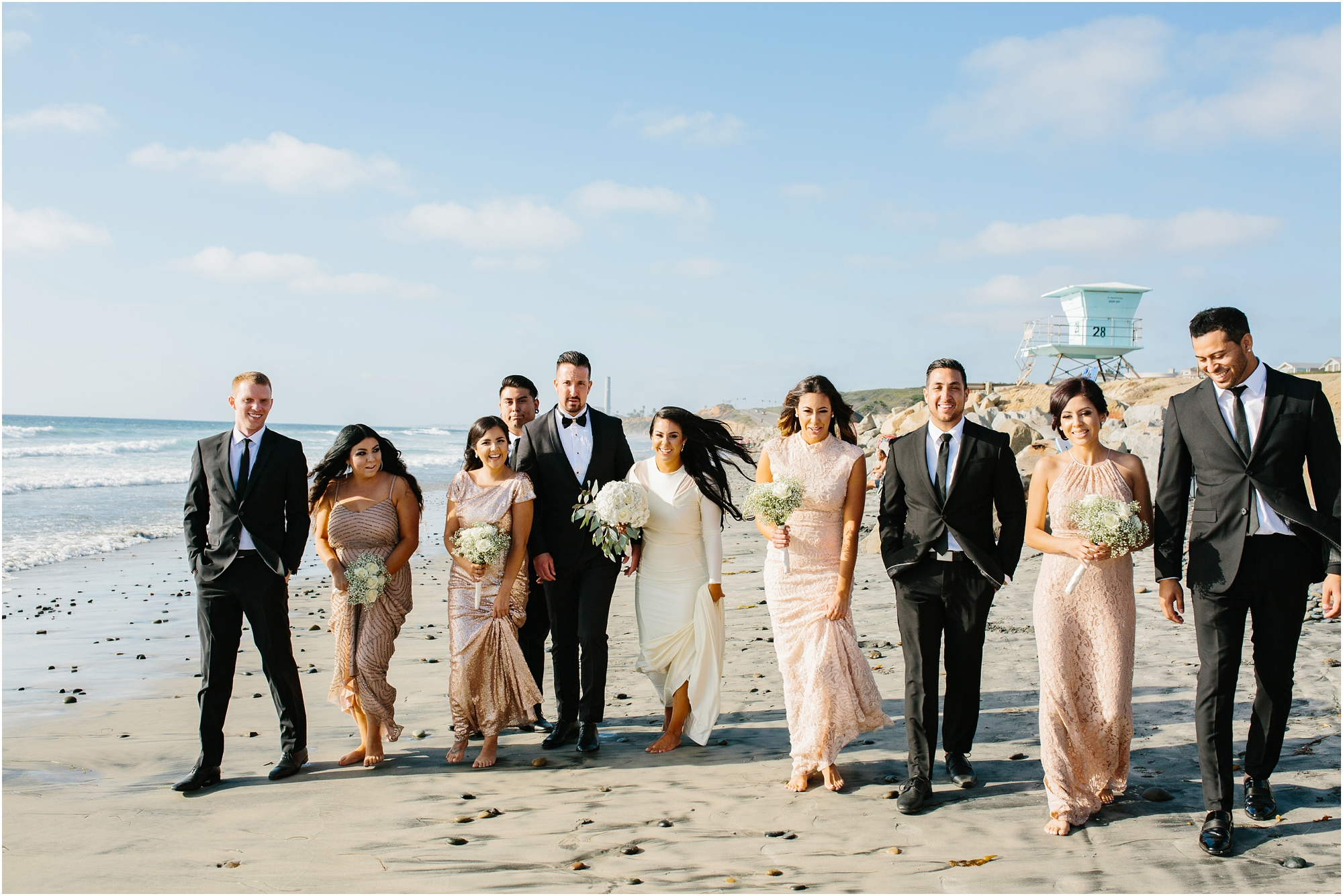 Carlsbad Beach Wedding Photos - https://brittneyhannonphotography.com