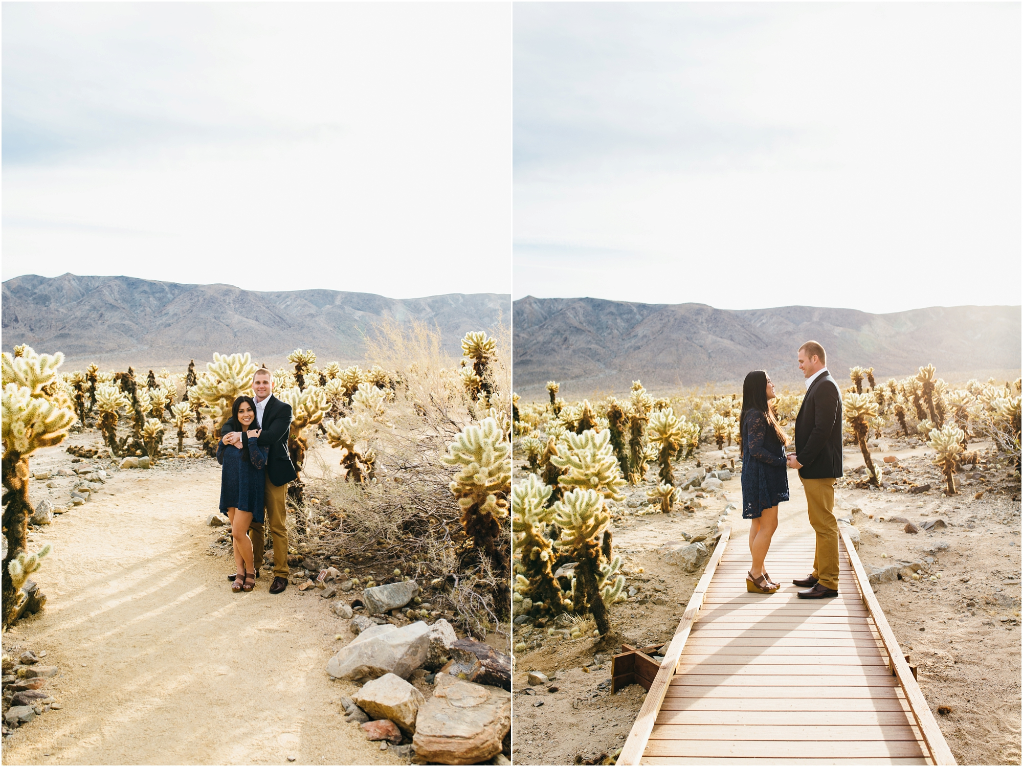 Joshua Tree Engagement Session - https://brittneyhannonphotography.com
