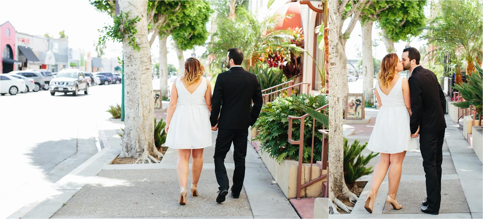 Orange County Civil Ceremony Wedding