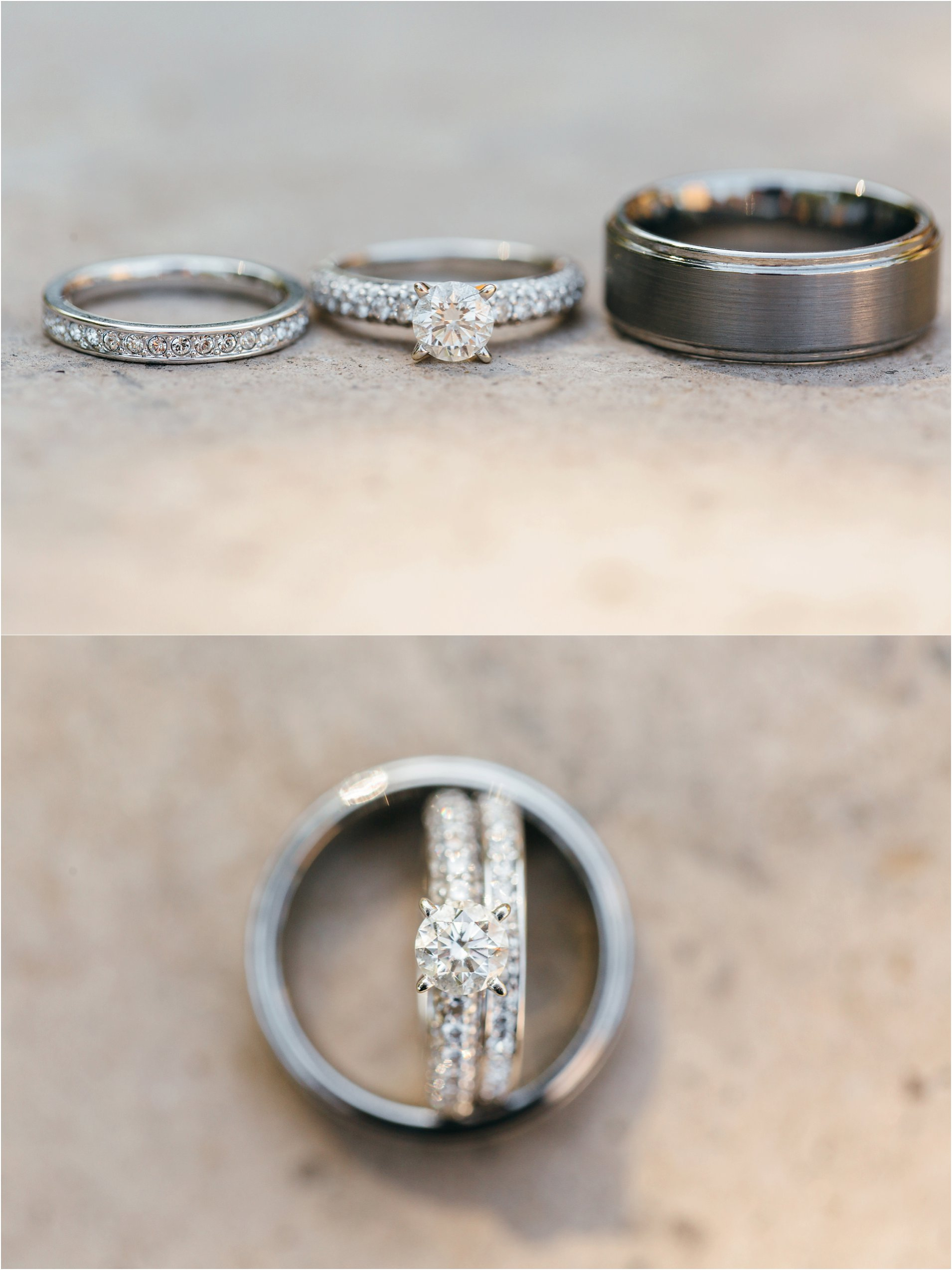 wedding rings and engagement rings