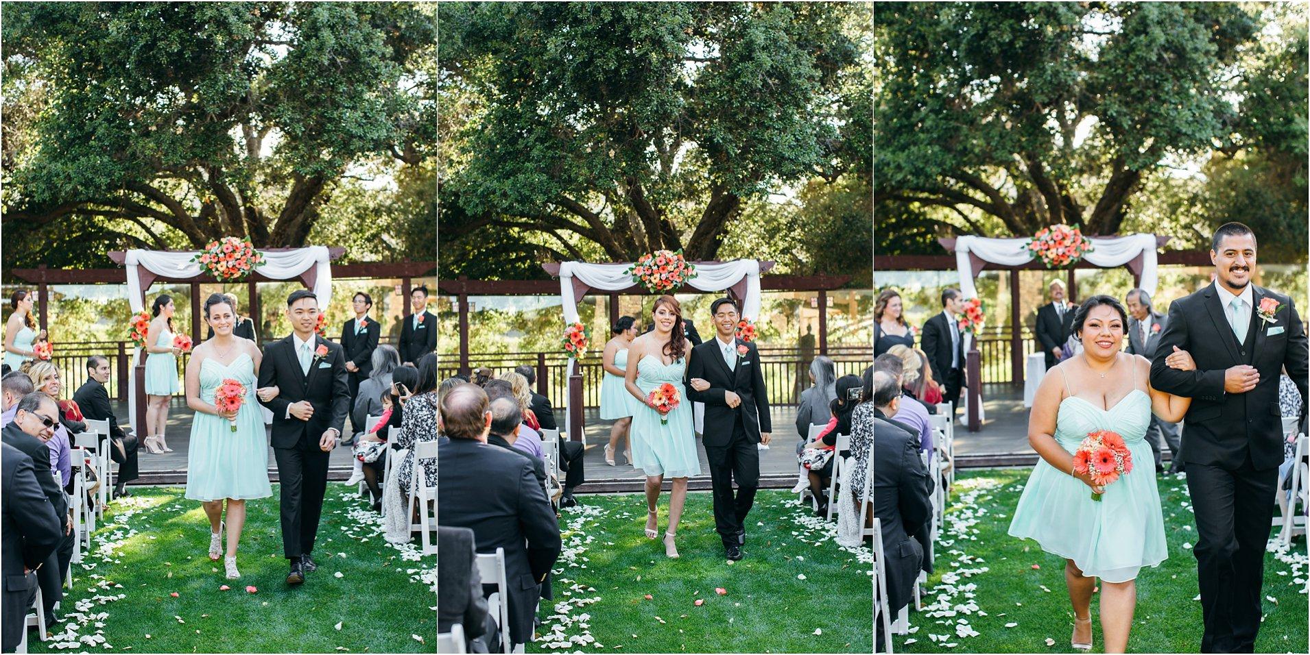 wedding ceremony at pechanga