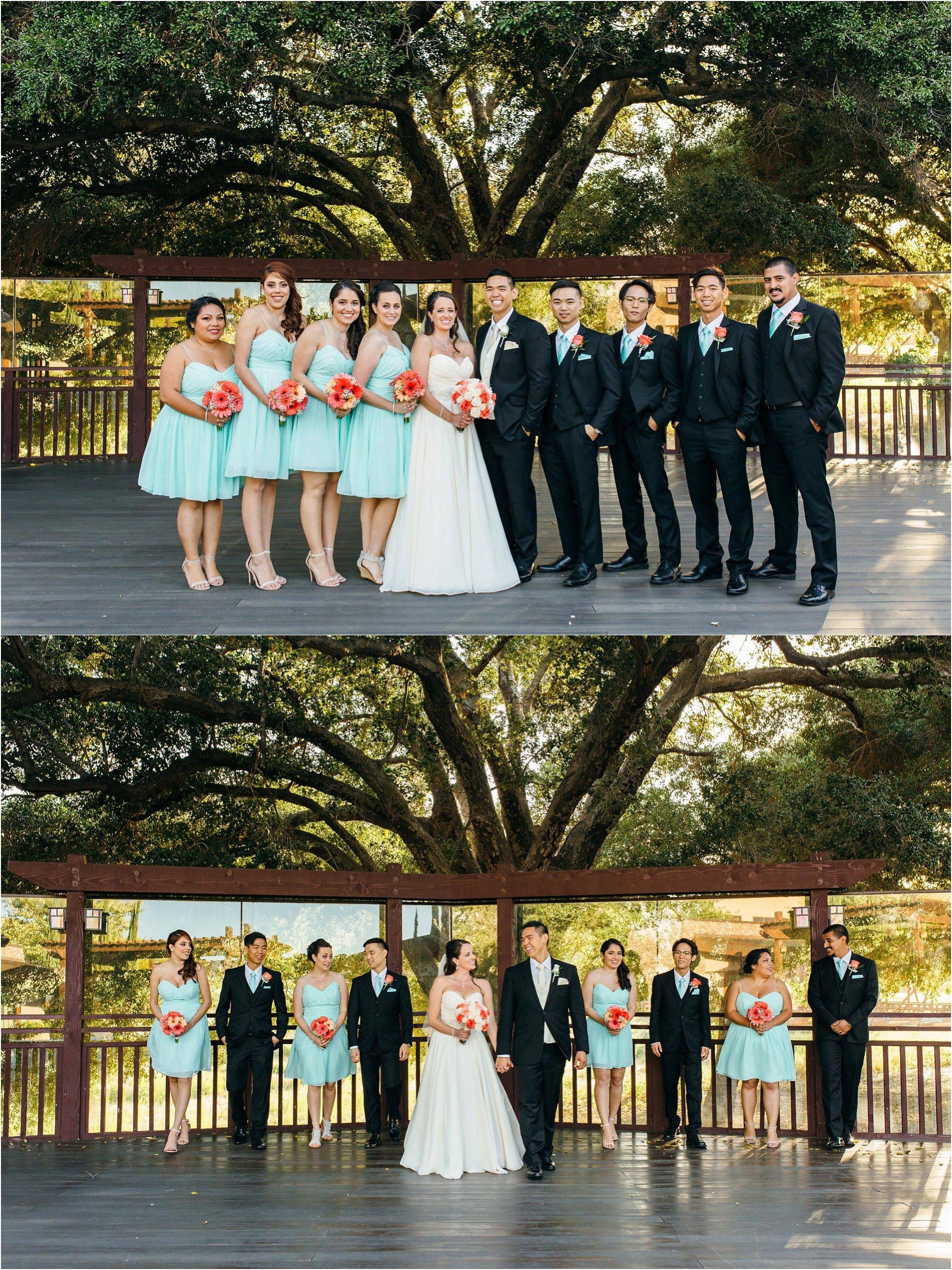 bridal party photos in temecula, ca