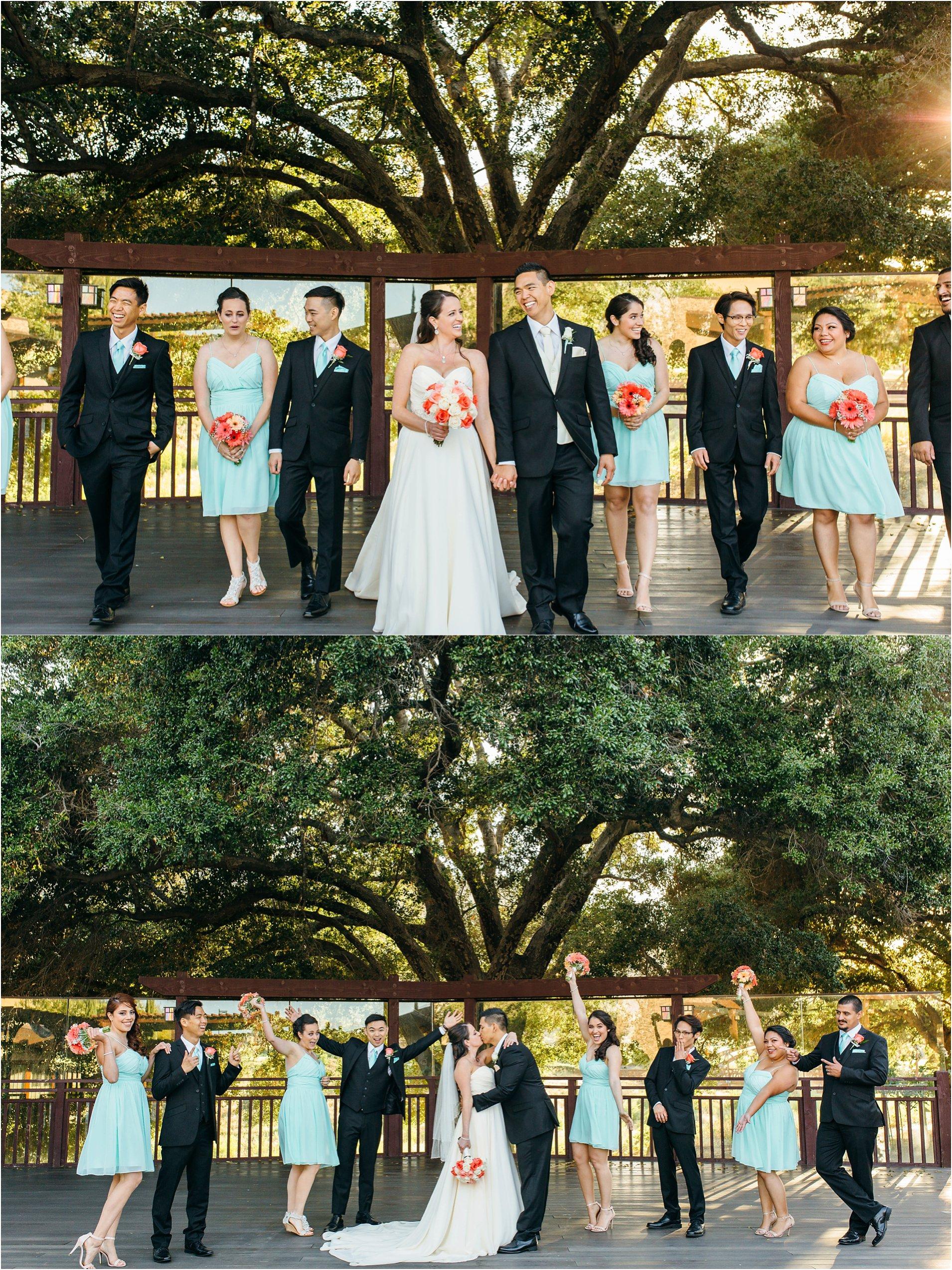 bridal party photos in temecula