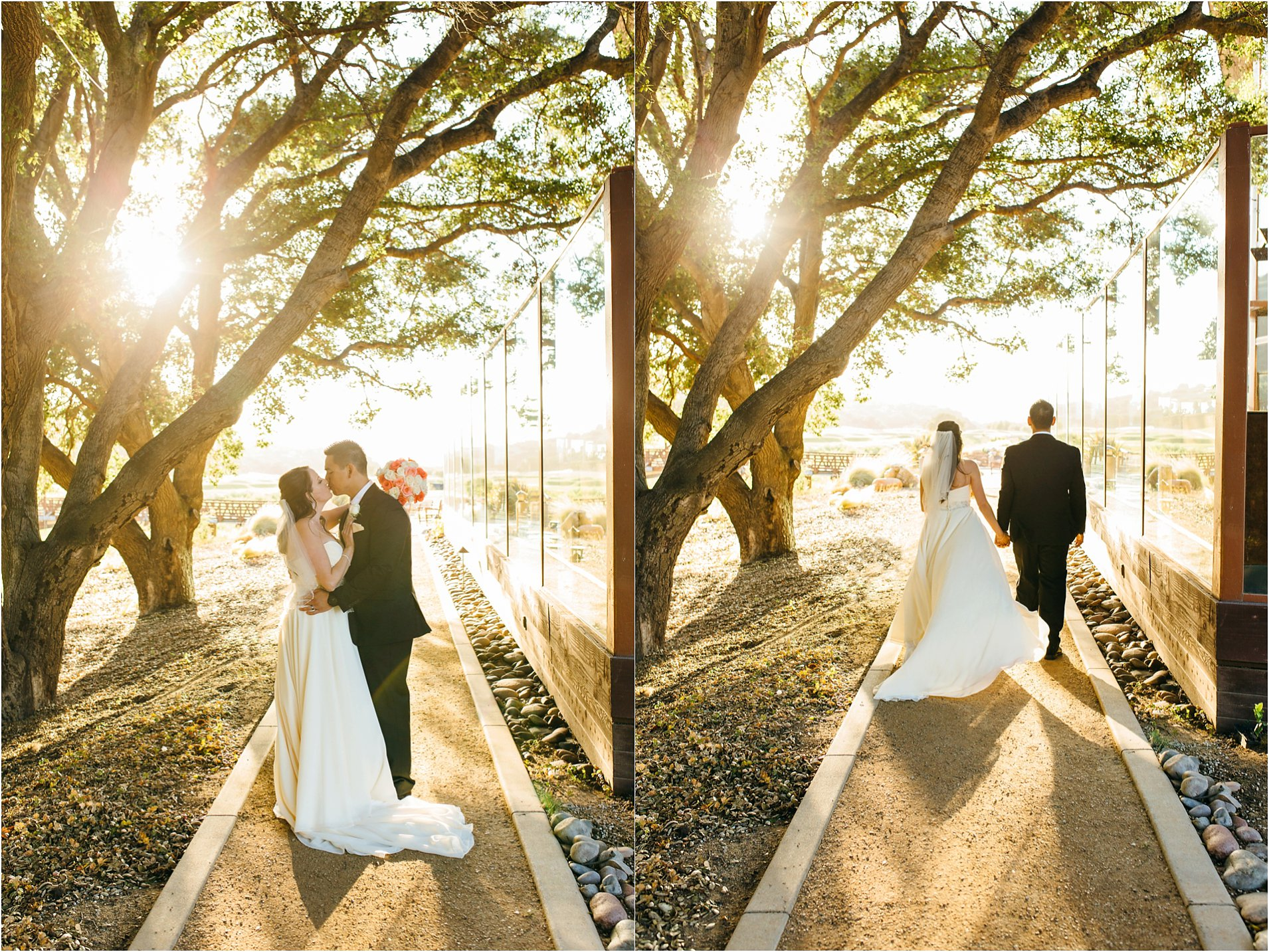 romantic bride and groom photos