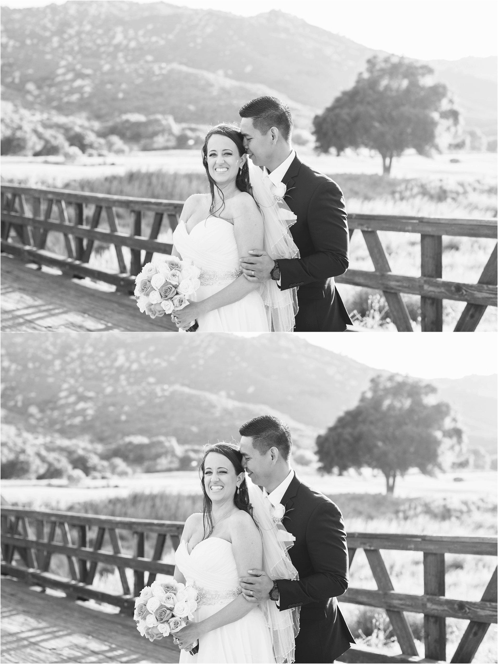 romantic bride and groom photos in temecula