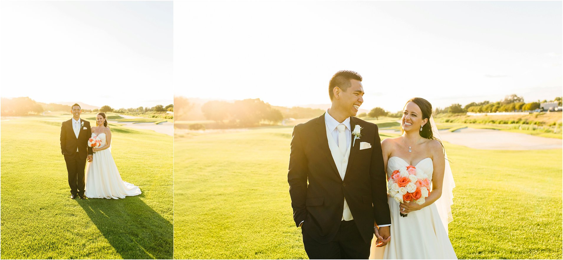 bride and groom in temecula