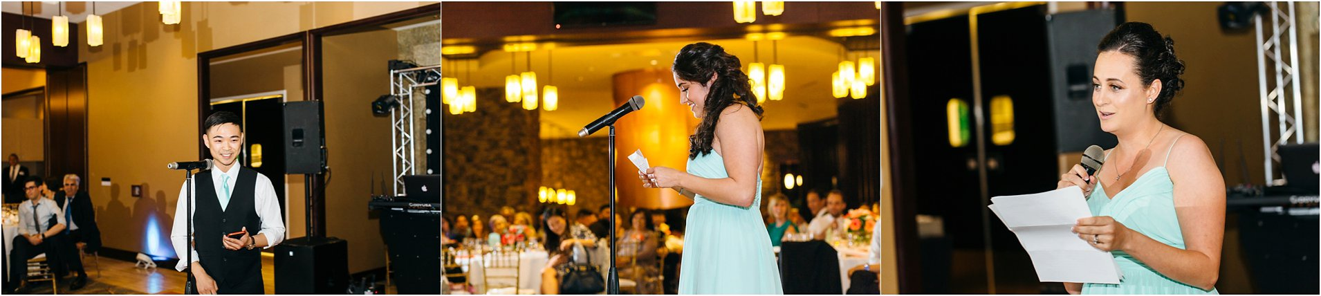 speeches and toasts by maid of honor and best man