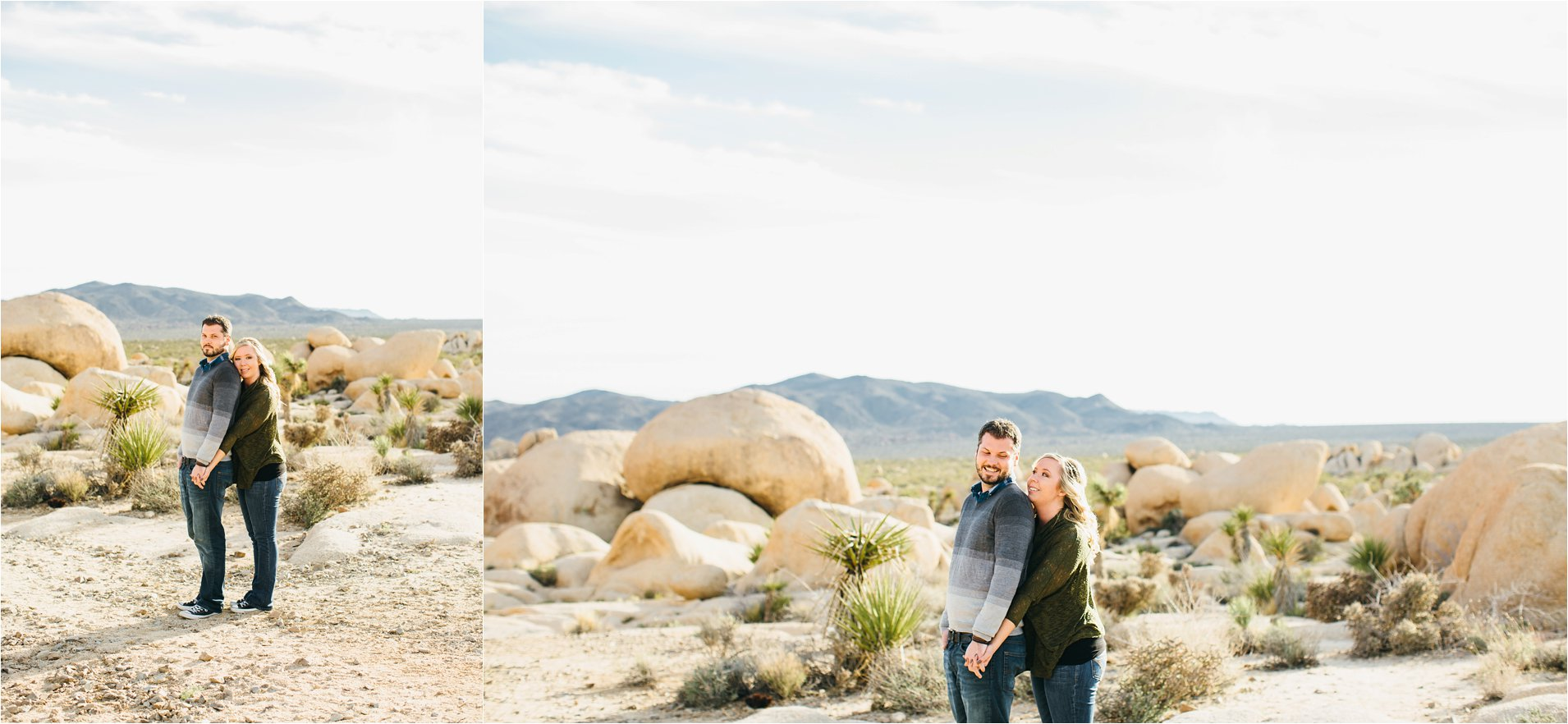 Engagement Photos in the Desert