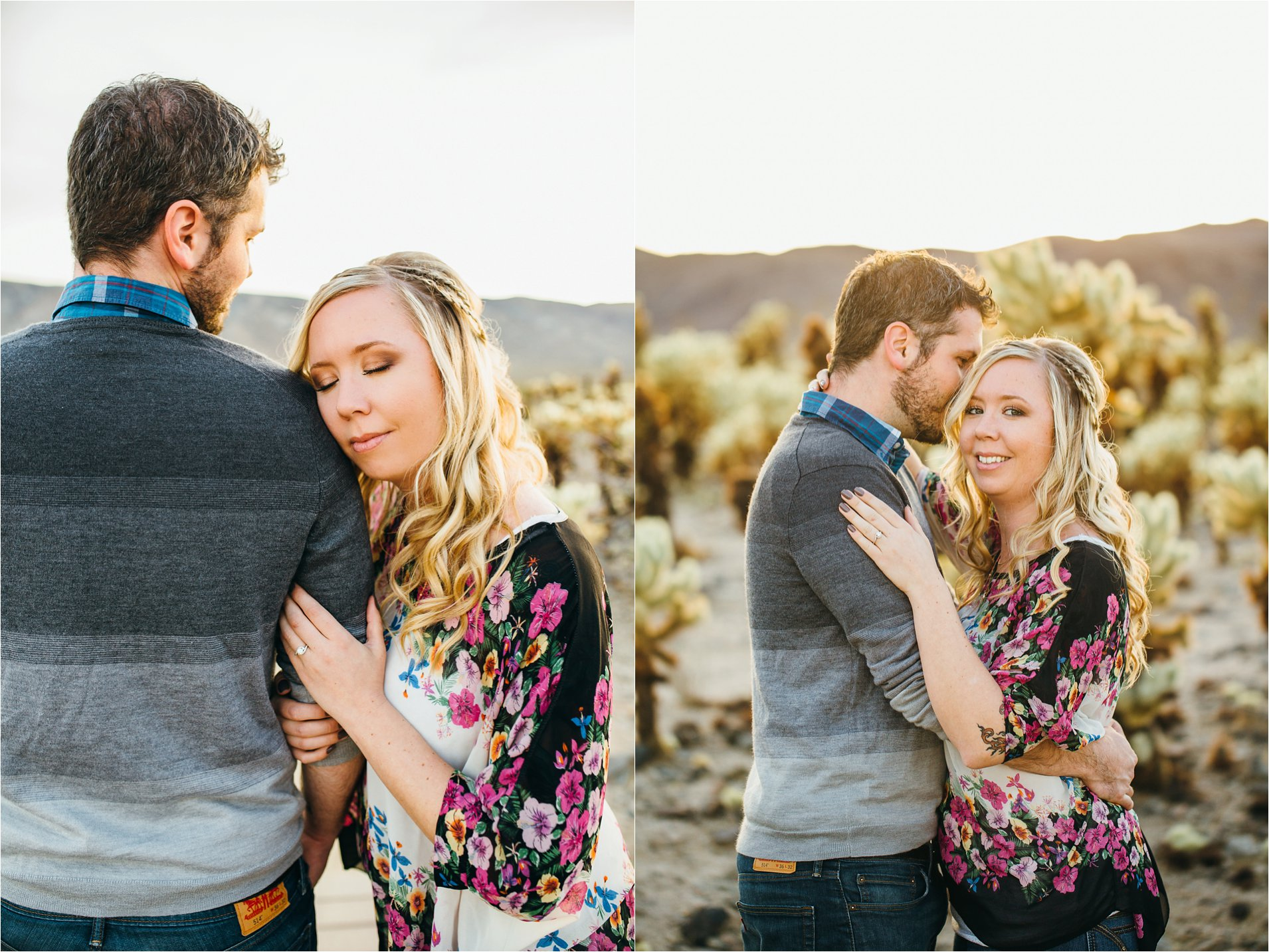 Engagement Photos in Joshua Tree