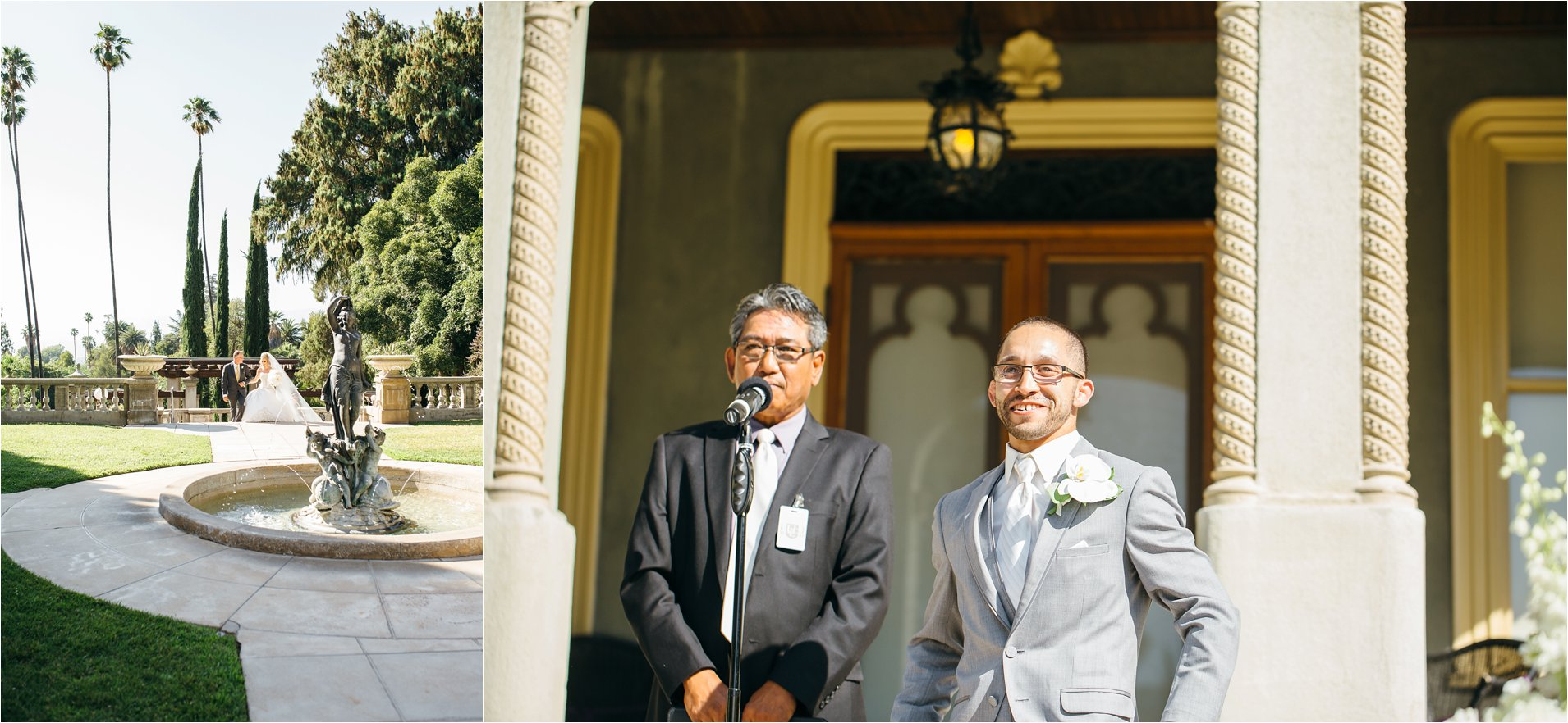 First Look - Redlands Wedding Photographer