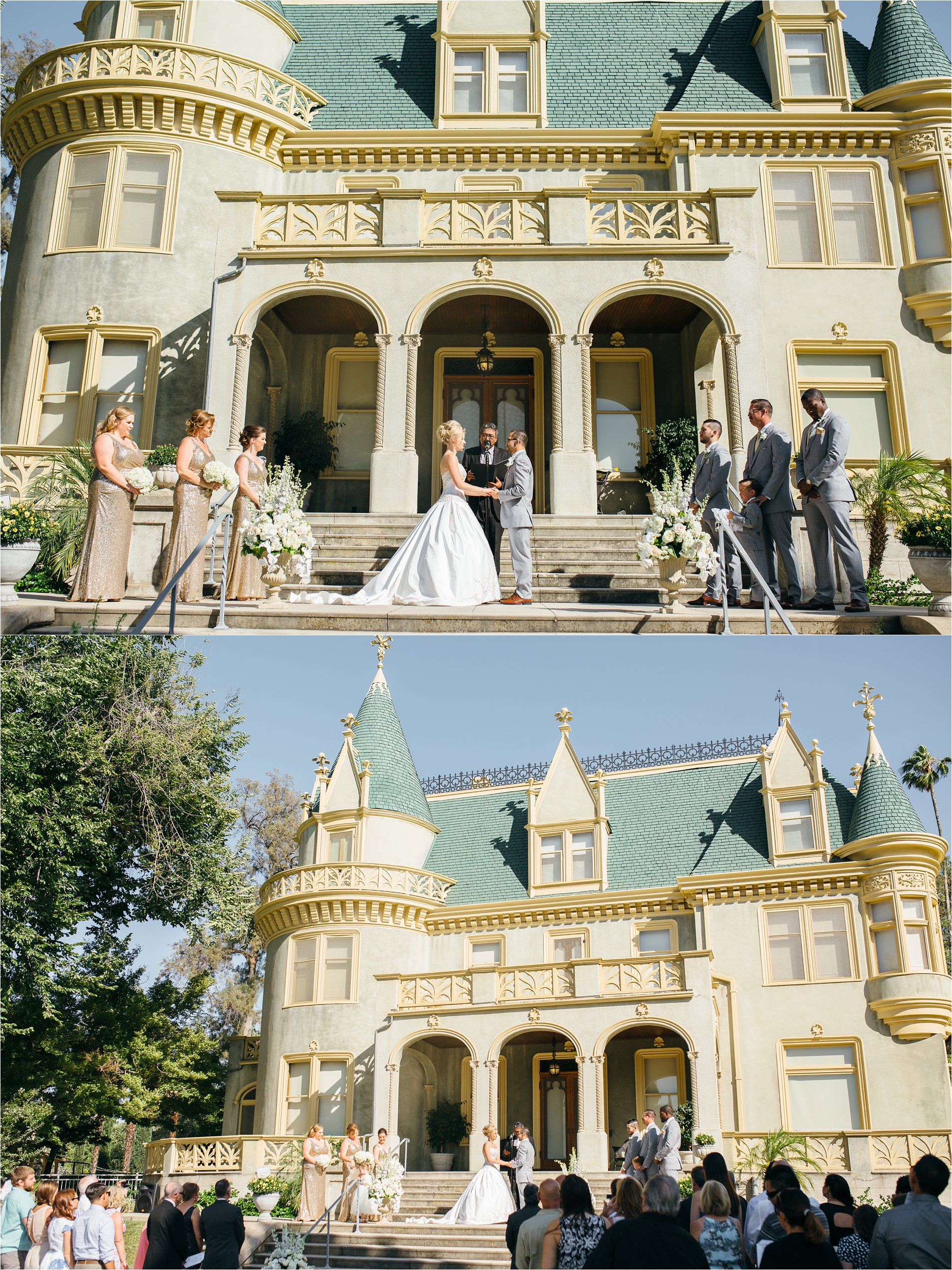 Redlands Wedding at the Kimberly Crest - Redlands Wedding Photography
