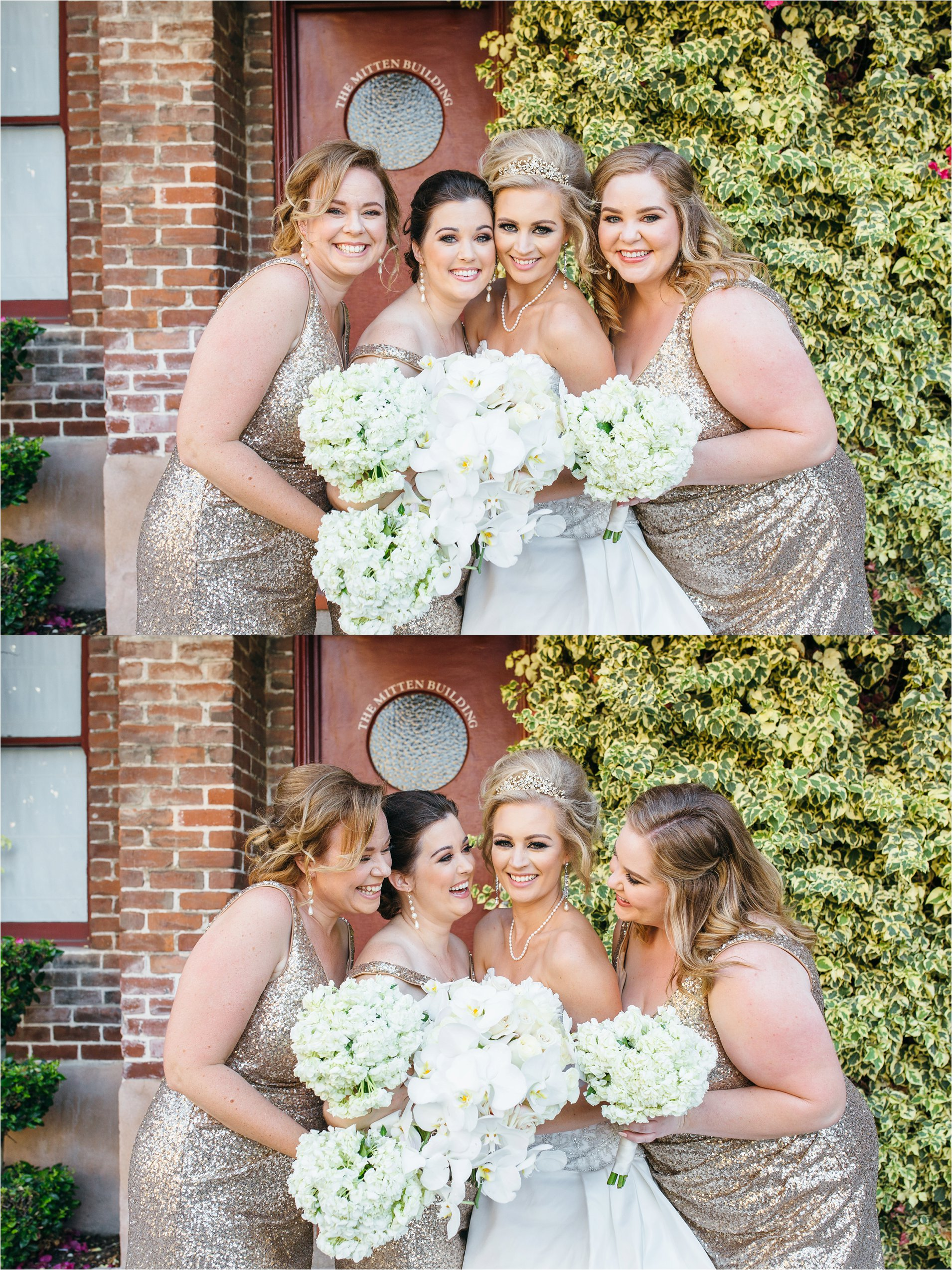 Bride and Bridesmaids - Southern California Wedding Photographer