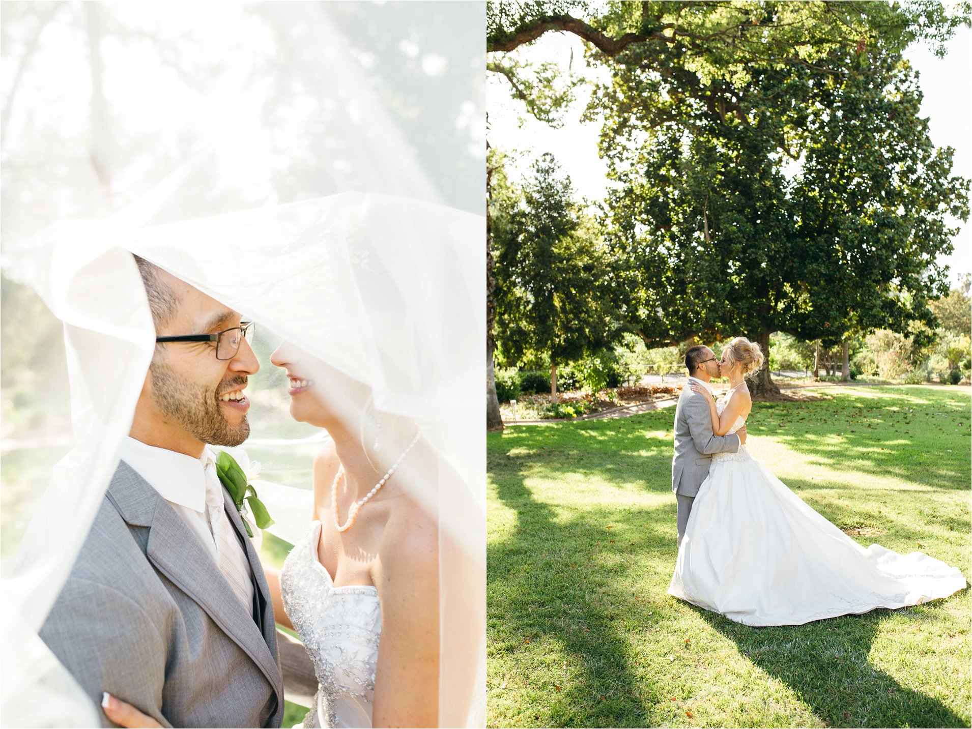 Bride and Groom - Kimberly Crest Wedding - Redlands Photographer