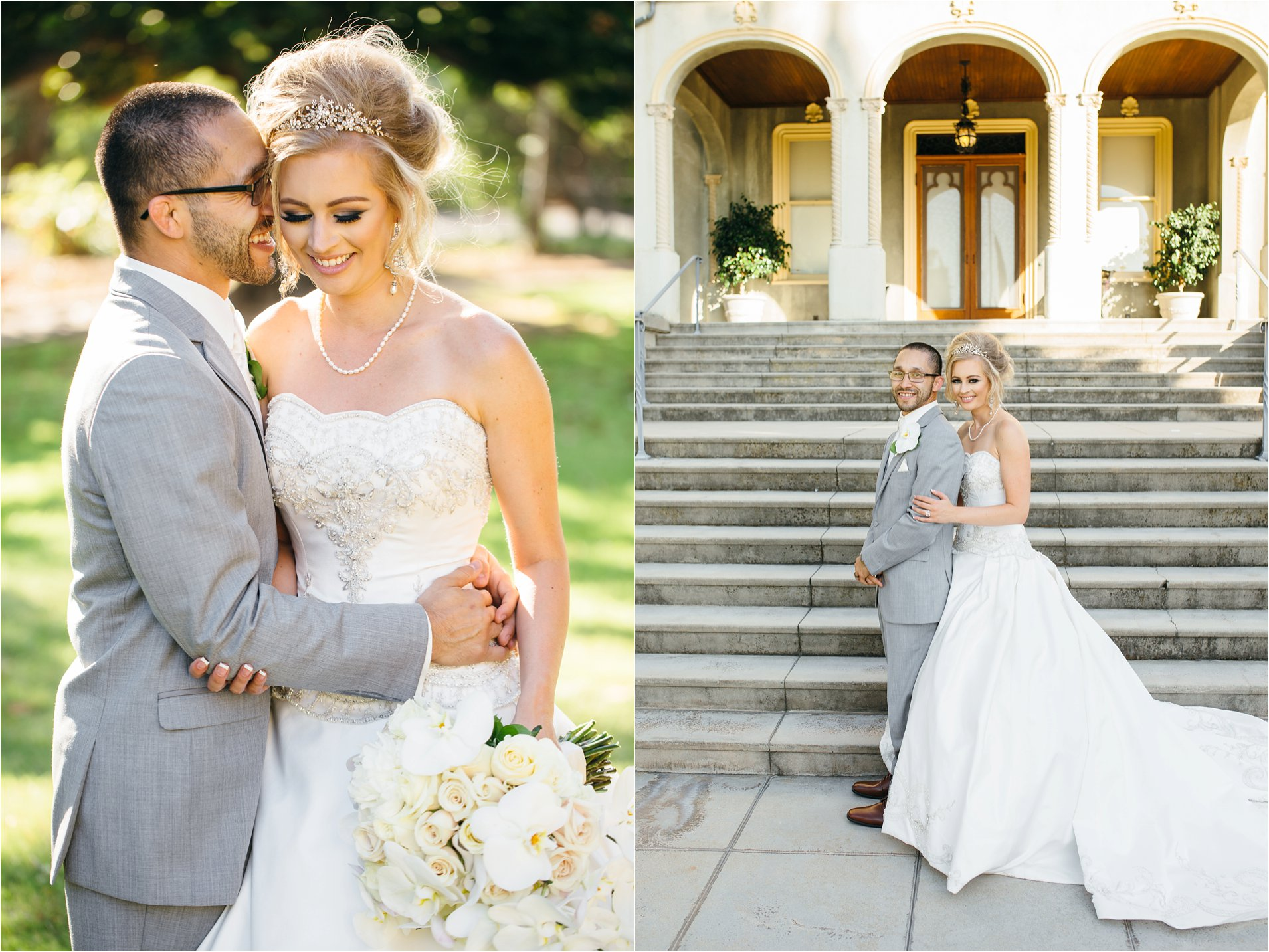 Bride and Groom - Kimberly Crest Wedding - Redlands Wedding Photographer