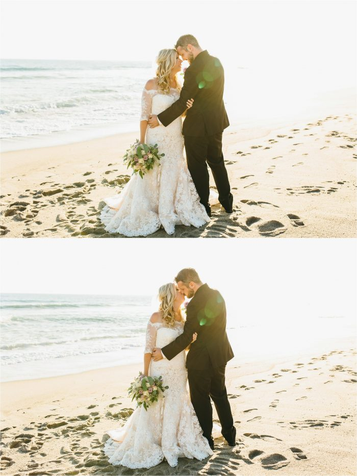 Wedding Day Photos on the beach
