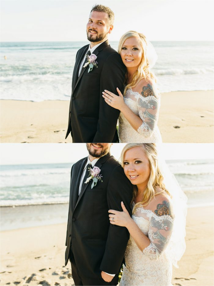 Wedding Photography on the beach in San Clemente
