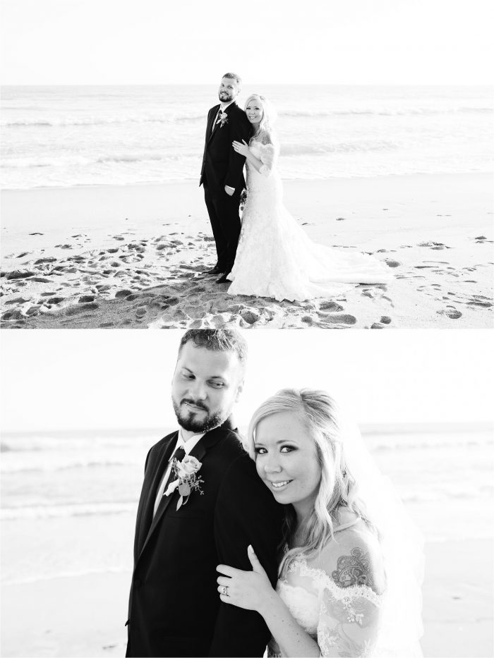 Black and White Wedding Photos in Southern California