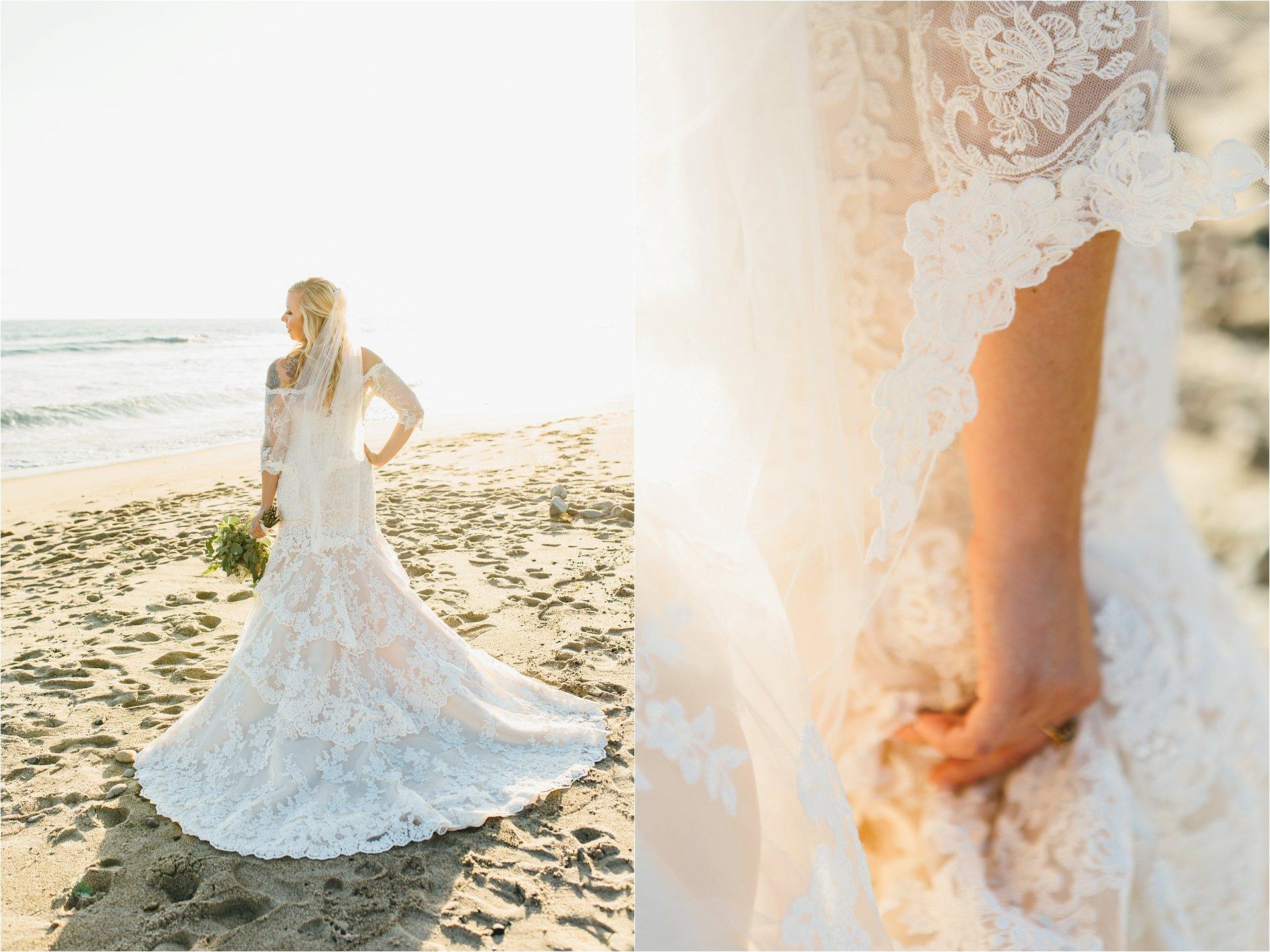 Lace Wedding Dress in Orange County