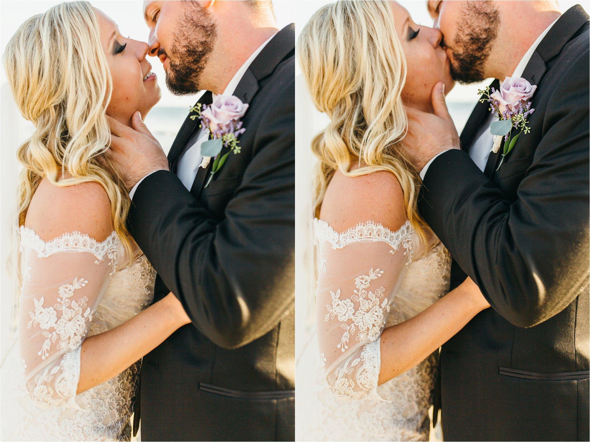 Wedding photos on the beach in San Clemente