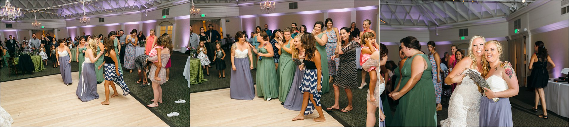 All the single ladies - Bouquet Toss