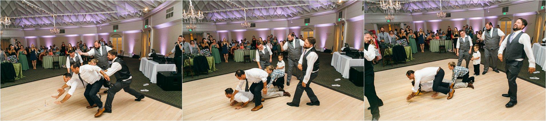 Wedding Reception Garter Toss