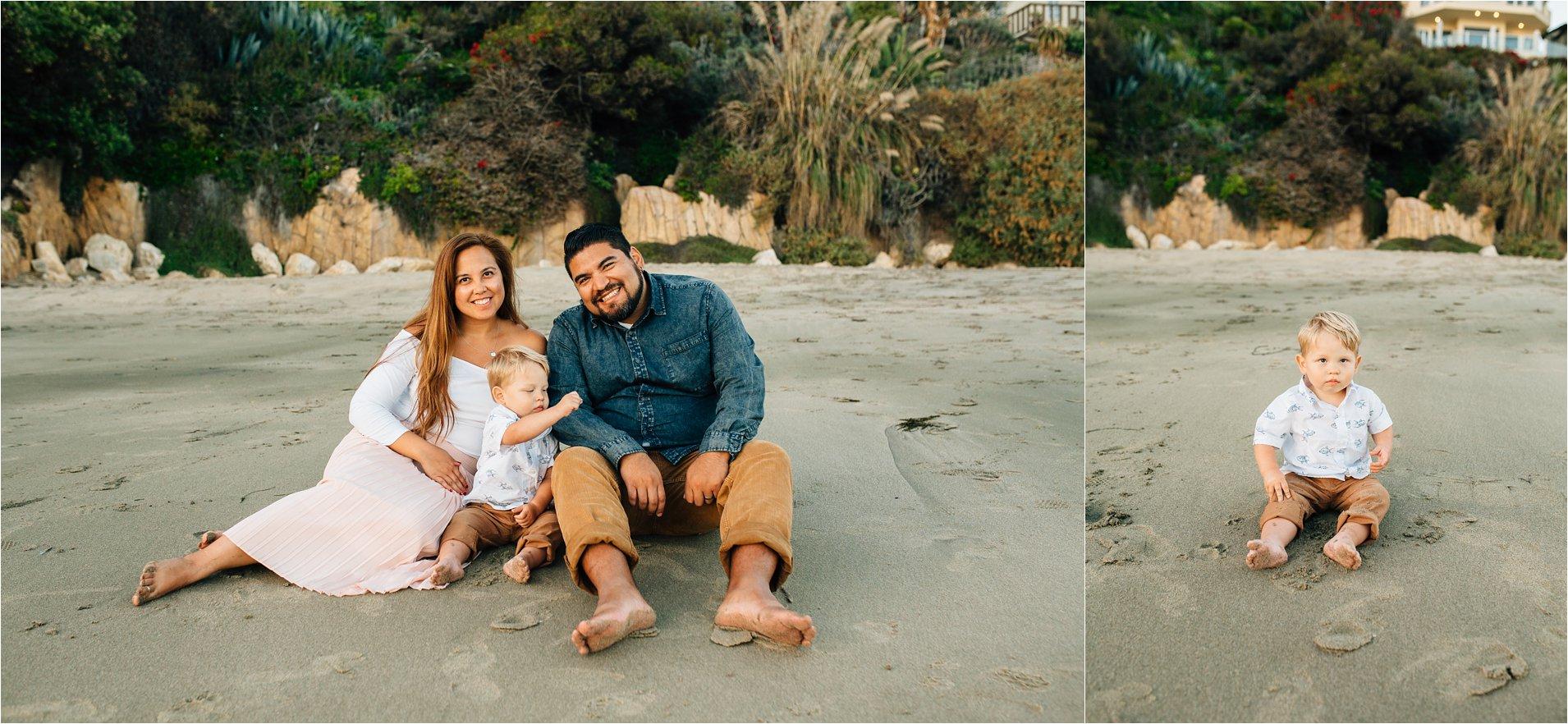 Family Photos on the sand