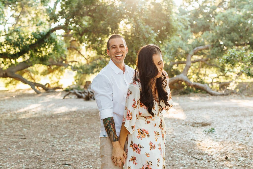 Irvine Engagement Session - Orange County Engagement - Tips on how to rock your engagement session - https://brittneyhannonphotography.com