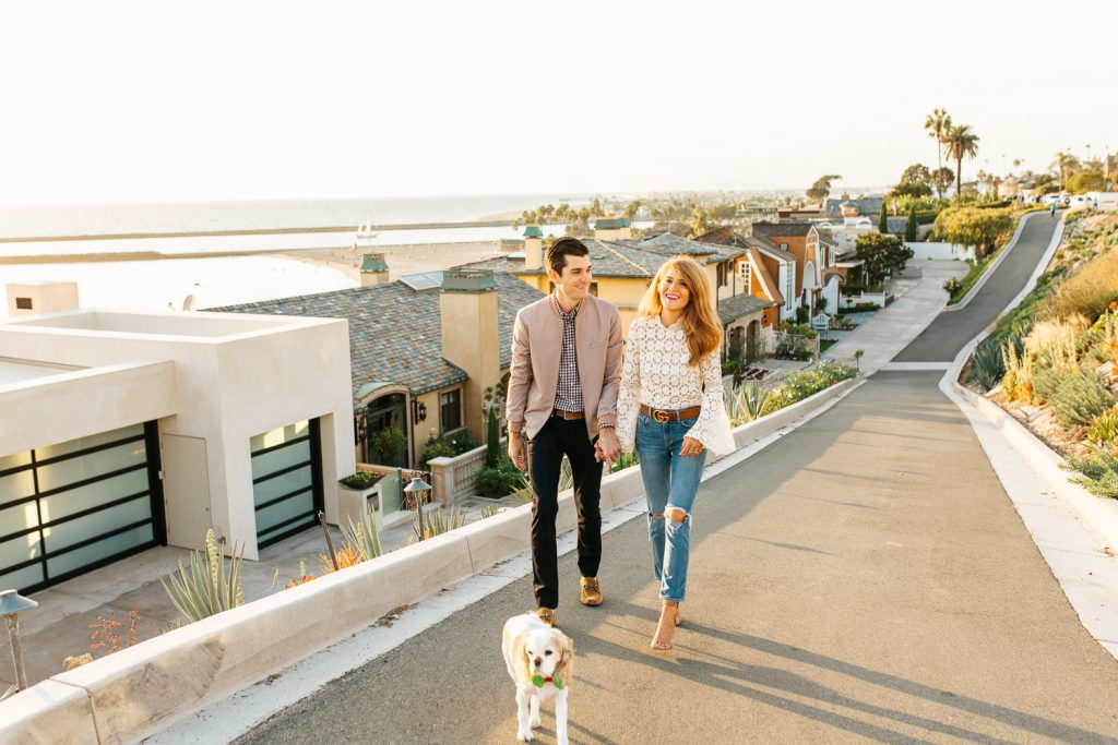 Corona del Mar Engagement - Tips on how to rock your engagement session - https://brittneyhannonphotography.com