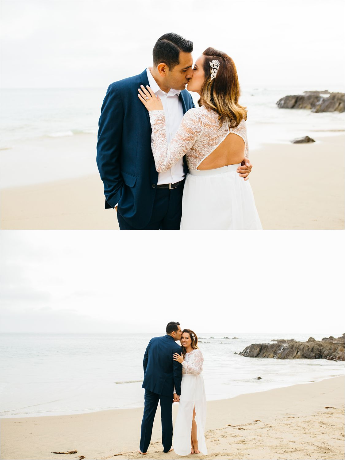 Beach Engagement Photography in Orange County