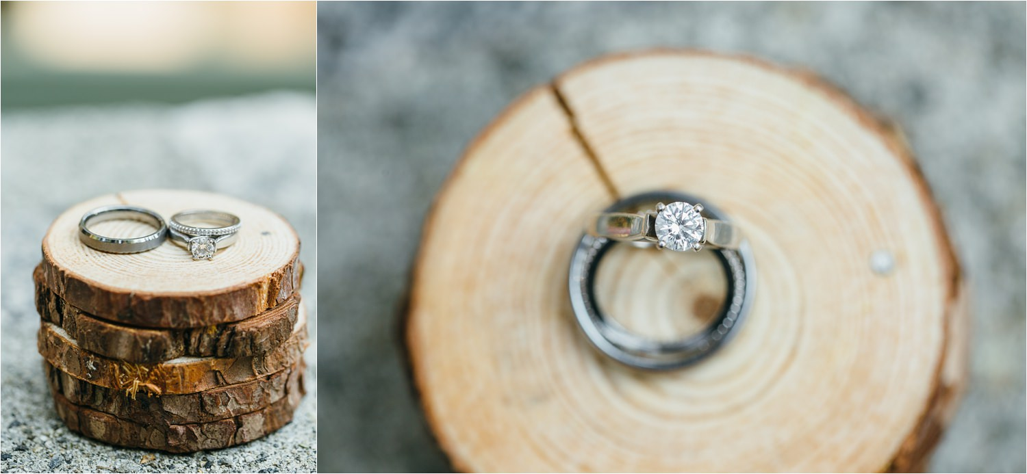 DIY Ring Box - Handmade wooden wedding ring box - https://brittneyhannonphotography.com